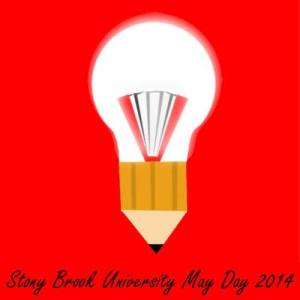 May Day lightbulb