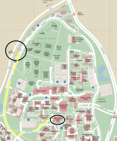 Sbu Campus Map
